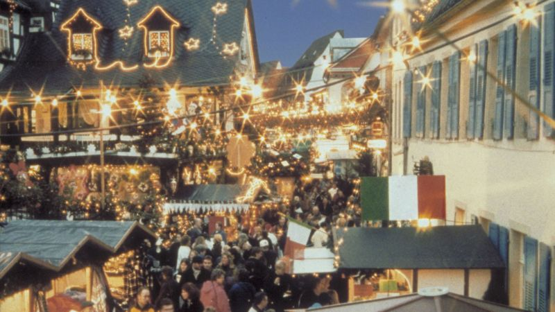 Rüdesheim Christmas Market of the Nations: Experience a different side to the Rhine